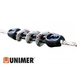Unimer u-cleat Mooring Snubber 516mm -Rope 16/20mm