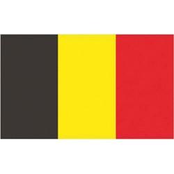 Drapeau Belgique 100% polyester 40 X 60 cm